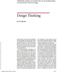 Design Thinking HBR page