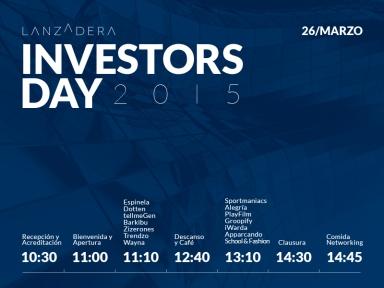 Investors Day Lanzadera